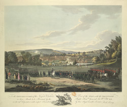 Officers and Corps of the Newport Volunteers